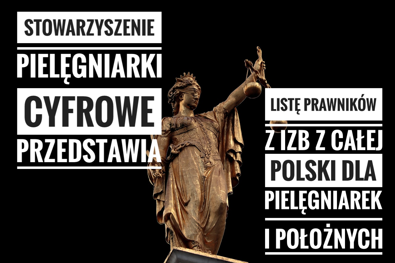 Lista PRAWNIKÓW Z IZB z całej Polski dla Pielęgniarek i Położnych