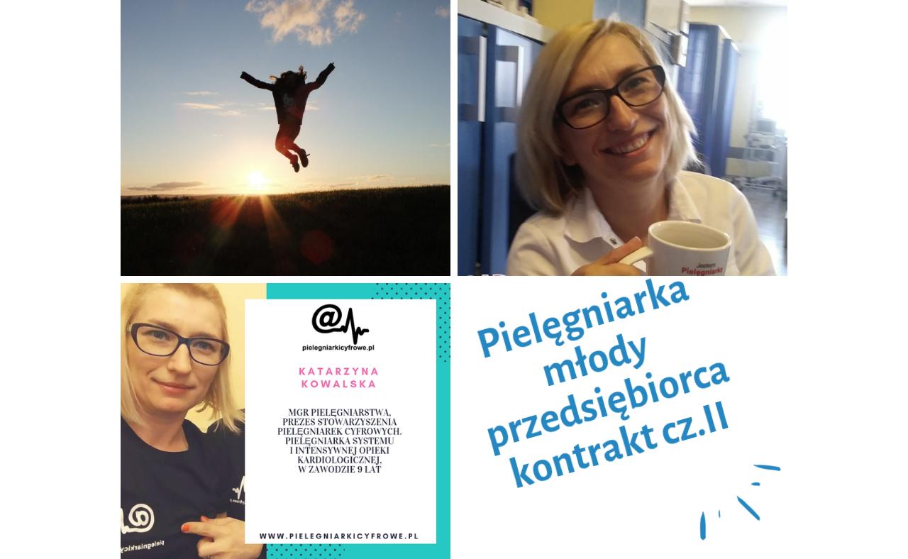Młody przedsiębiorca – Pielęgniarka na kontrakcie, cz. II