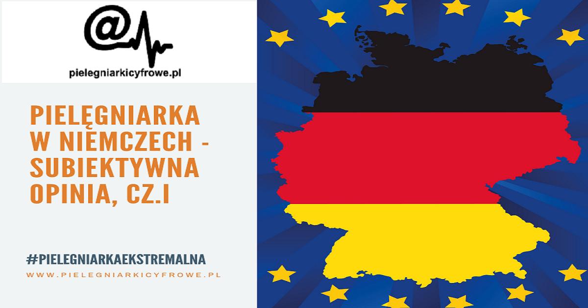 Praca Pielęgniarki w Niemczech cz. I
