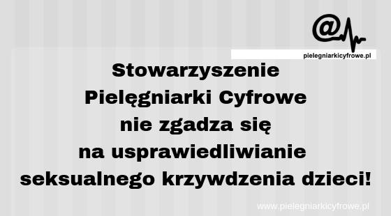 Oficjalny komunikat Stowarzyszenia Pielęgniarki Cyfrowe