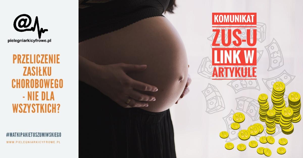 Pielęgniarki Cyfrowe inicjatorem akcji #przelicz zasiłek chorobowy/macierzyński