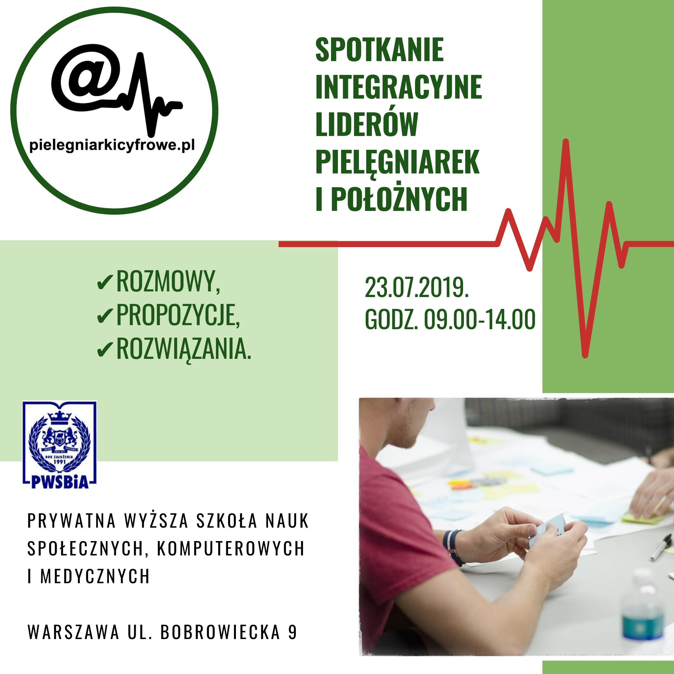 Spotkanie Integracyjne Liderów Pielęgniarek i Położnych.
