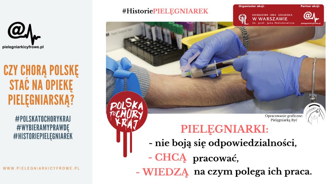 Czy chorą Polskę stać na opiekę pielęgniarską?