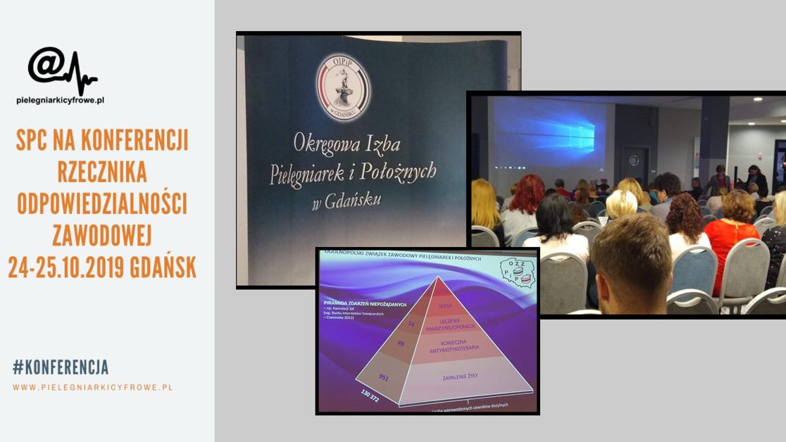 """Konferencja """"Od pediatrii do geriatrii – wyzwania i szanse w aspekcie skoordynowanej opieki zdrowotnej. Zagrożenia w pracy pielęgniarki i położnej""""."""