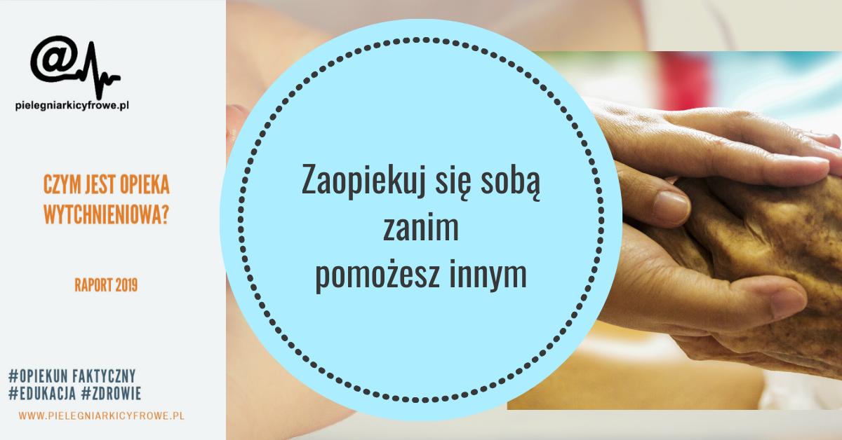 """Raport z programu """"Opieka Wytchnieniowa"""" edycja 2019."""