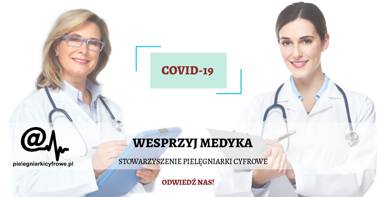 Wspieranie pracowników służby zdrowia podczas globalnej epidemii COVID-19